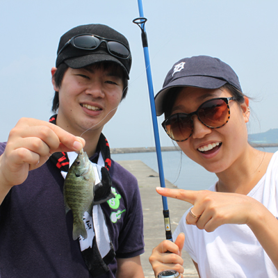 Fishing in Lake Biwa