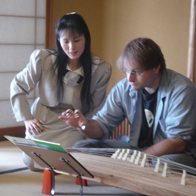 Learning to play the koto