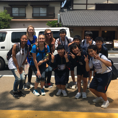 With younger Japanese students